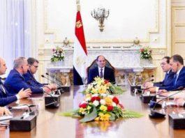 Sisi, üye ülkelerin temsilcilerini kabul etti